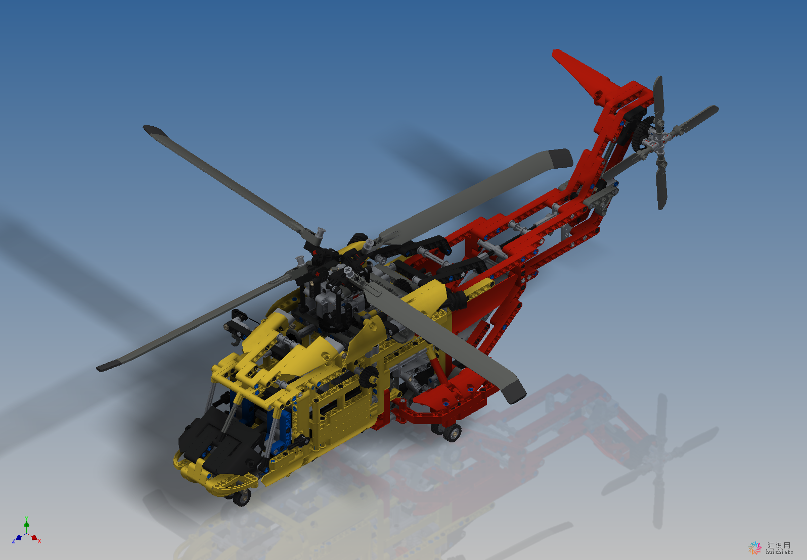 lego-直升飞机